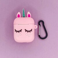 "5783030 Чехол для airpods ""Sleeping unicorn"", pink"