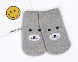 342149 Носки Bear, light grey