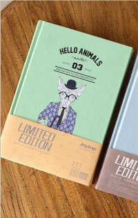 "JZNB A5 116-8227 БЛОКНОТ ""Hello Animals"" green"
