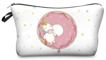 313410 Косметичка Unicorn with a donut